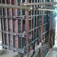 新型剪力墙支撑体系:横梁体系