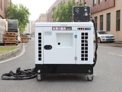 20kw静音柴油发电机大厦备用低价位
