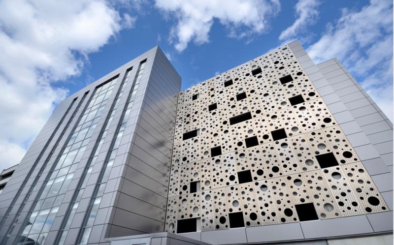 冲孔铝单板外墙装饰材料艺术冲孔雕刻铝板