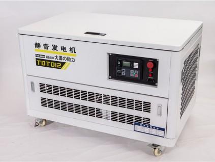 大泽12KW静音汽油发电机好不好?
