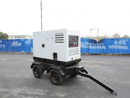 全自动400A柴油发电电焊两用机静音