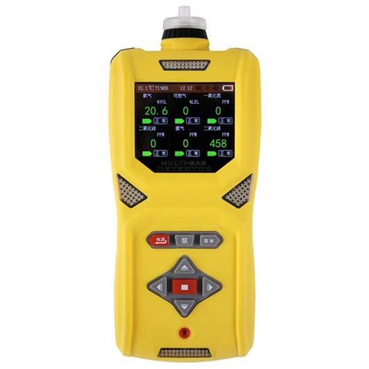 HD5S6彩屏泵吸多合一气体检测仪