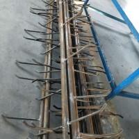 山东生产线杆爬梯水泥杆爬梯圆管爬梯