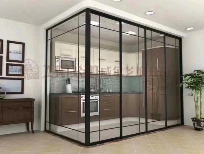 合肥美度空间17框中空门安装