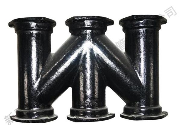 惠州新星铸管不降板同层排水系统、降板同层排水 ,B型管件