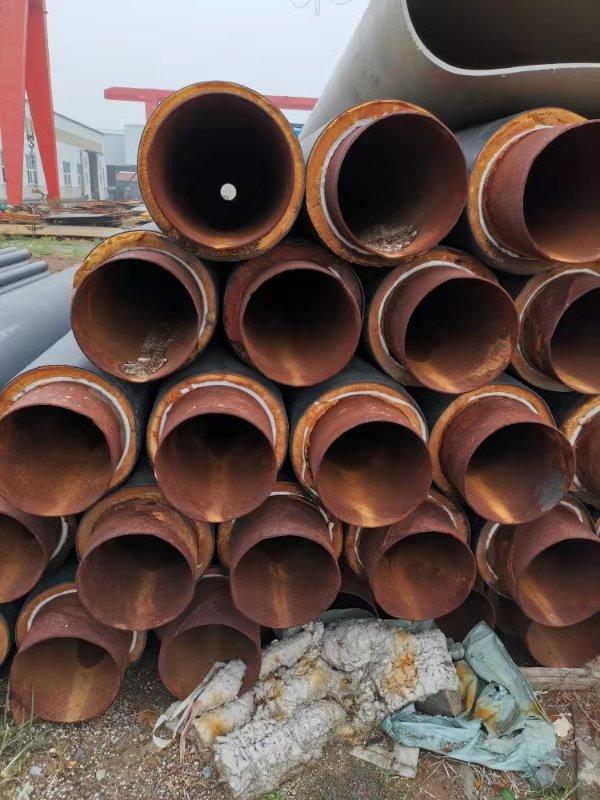 供应一批工程剩余∮500 带聚氨酯发泡的螺旋焊管 1150米