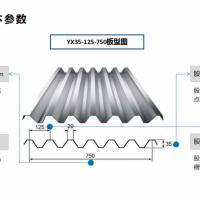 750型楼承板规格及参数-山东胜博楼承板标准化设计与生产厂家
