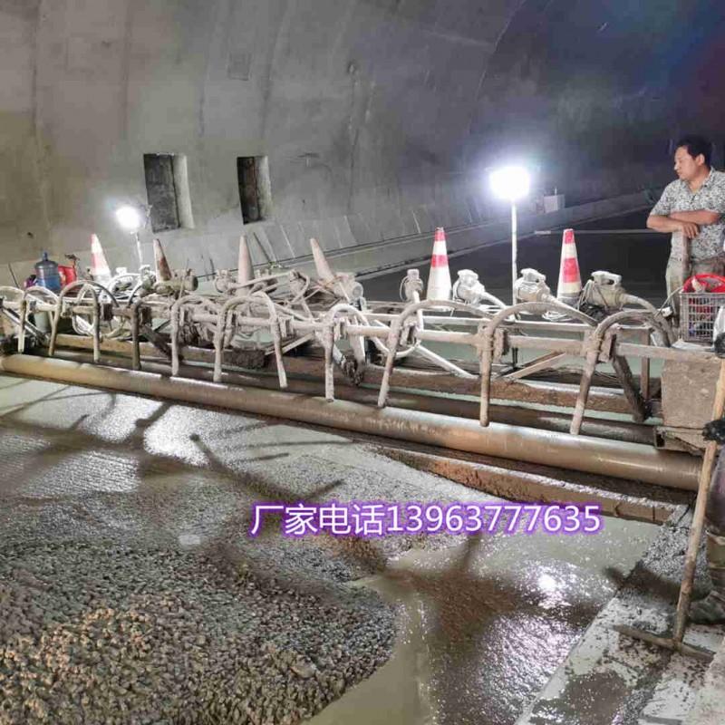可定制三滚轴混凝土路面振动梁水泥提浆摊铺机电动整平机