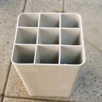 PVC栅格式方孔管