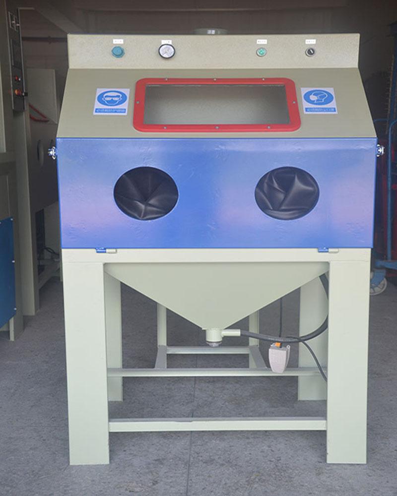 增强附着力设备手动清理除锈氧化层 兰州普压式手动喷砂机