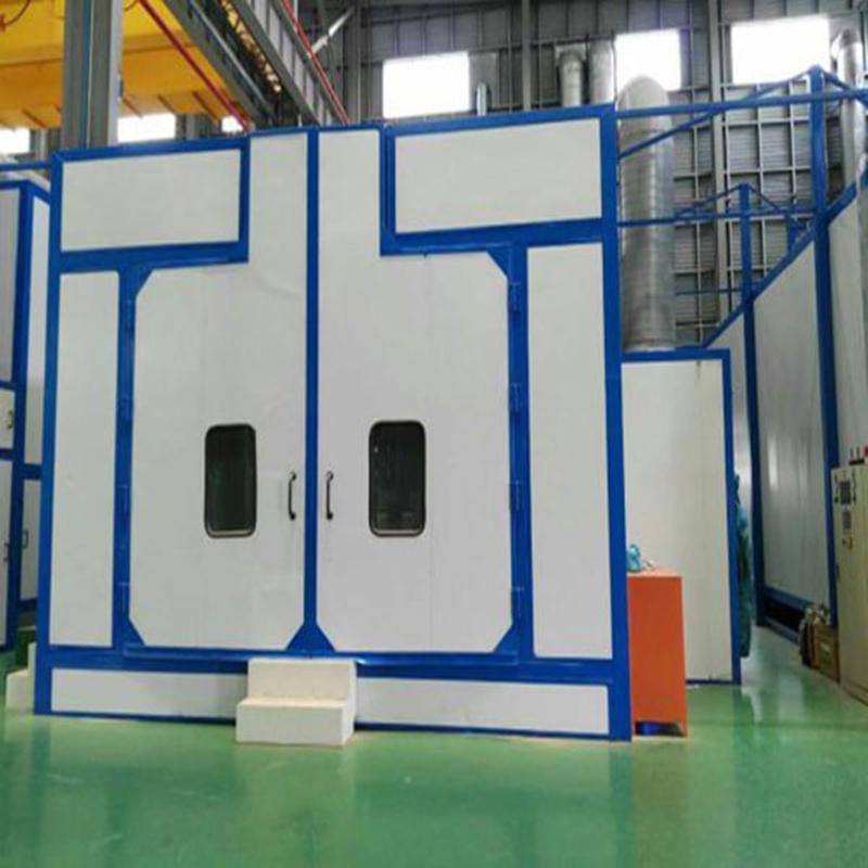 兰州手动喷砂房 大型工件防锈喷漆处理 环保表面处理设备
