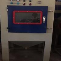 小型产品清理表面氧化层 滚篮自动喷砂机 兰州打砂机设备