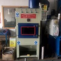 清理油漆氧化层油污毛刺设备 兰州履带式自动喷砂机