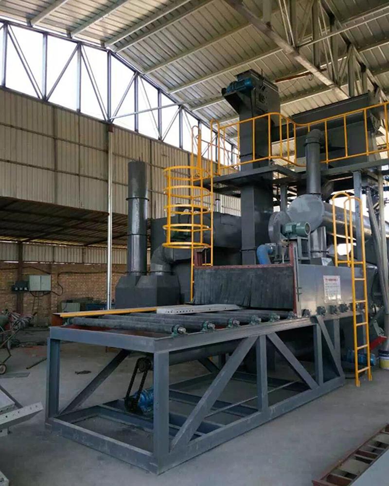钢板清理氧化层喷漆前处理 兰州通过式抛丸清理机