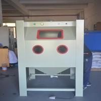手动式箱式喷砂机 喷涂不良品表面清理加工 洛阳表面处理设备