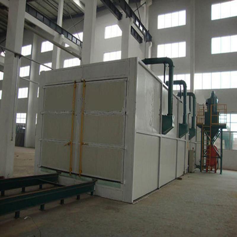 机体喷粉前处理除尘废气处理设备 洛阳自动回收式喷砂房