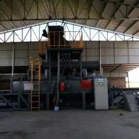 通过式抛丸清理机角铁翻新表面处理设备 洛阳自动喷丸机