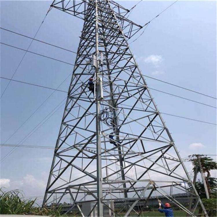 定制 电力铁塔 输电线路铁塔 角钢电力塔 四角电力塔
