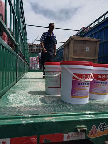 浙江抹灰工程内外墙手一摸掉沙水泥砂浆墙面返沙—治沙灵性能特点