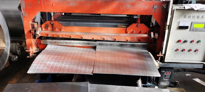 地暖模块专用橘皮铝箔卷现货供
