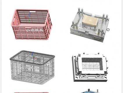 果筐塑料模具 小霞模具 多年塑料模具生产经验