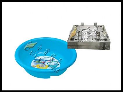 PE脸盆塑料模具PE薄壁盆塑料模具加工厂