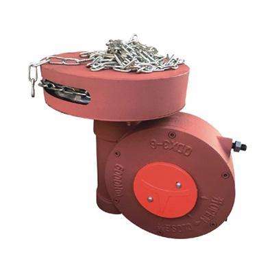 带链条阀门蜗轮箱QDX3-6煤化工阀门带链轮蝶阀减速机