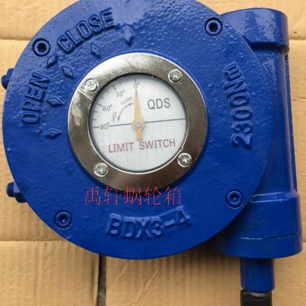 多回转驱动装备-QDX3-4阀门蜗轮箱球阀、蝶阀、旋塞阀