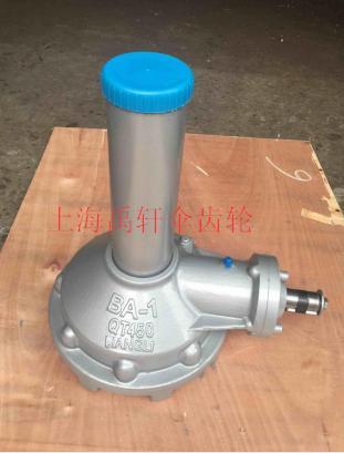 上海禹轩供应BA-1手动阀门锥齿轮装置 闸阀传动机构