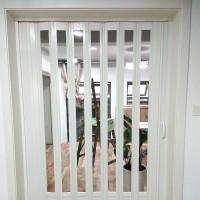 pvc折叠门推拉门商铺门厨房卫生间门室内门