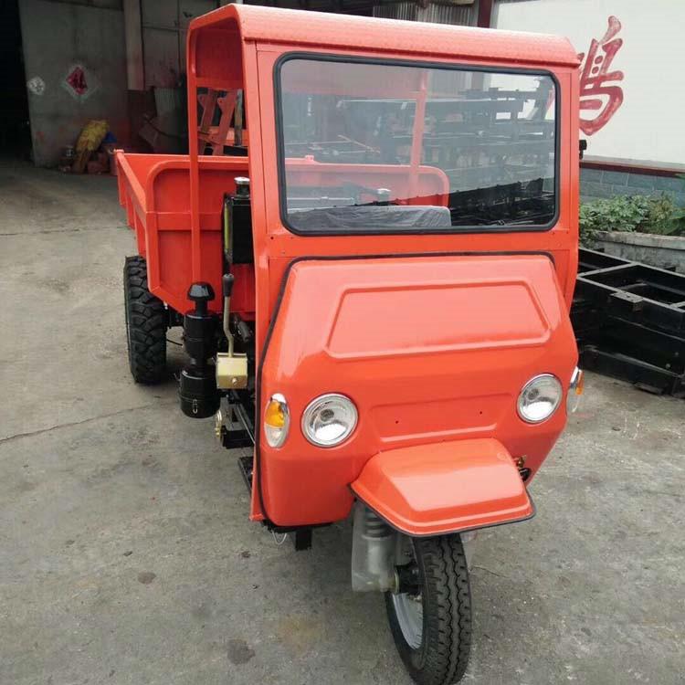 18马力柴油三轮车 工程自卸翻斗车 带高低速的三轮车
