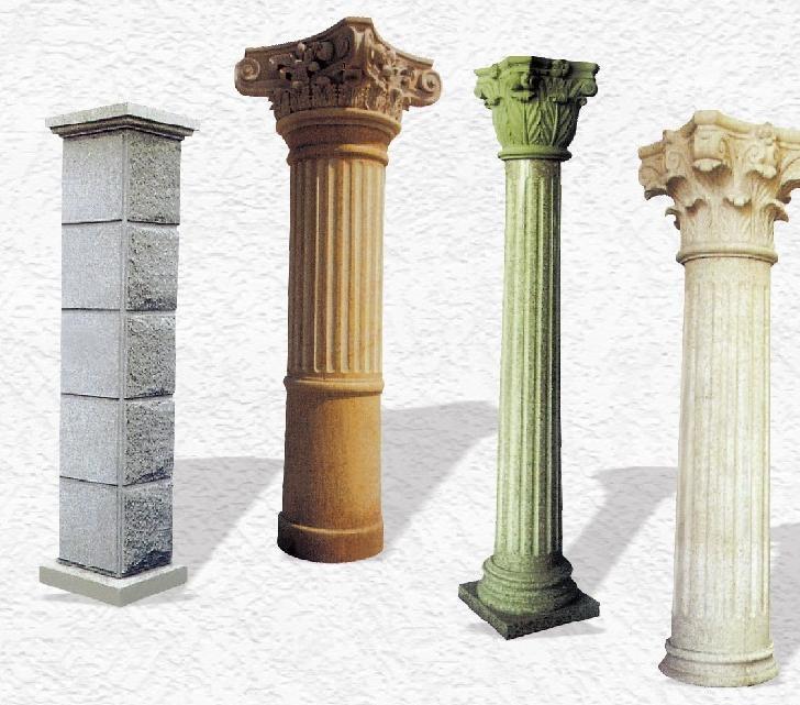 石膏线条角线石膏罗马柱用摸具硅胶