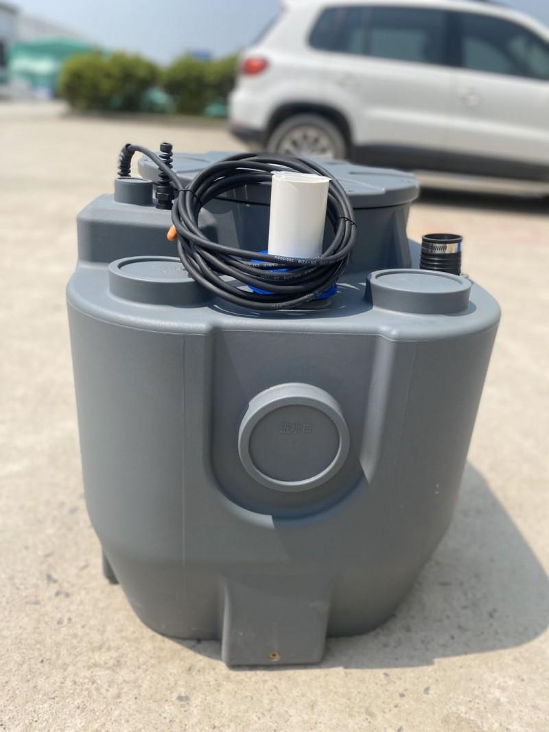 ExLift180系列为地下室浴缸洗衣机专用单泵污水提升器