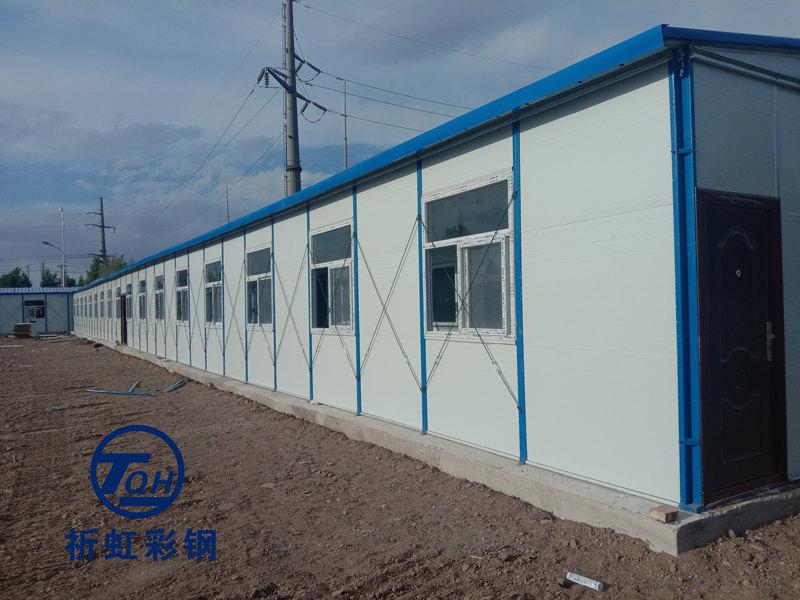 临汾霍州市保暖抗风活动房 开元街道彩钢房 大张镇住人办公板房
