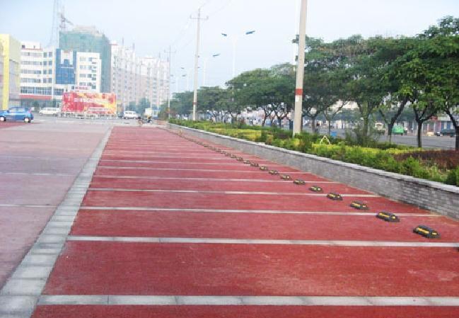 四川景区停车场路面透水地坪生产施工材料