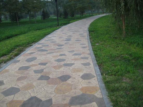 彩色混凝土(耐磨强化料 彩色脱模粉 密封保护剂)