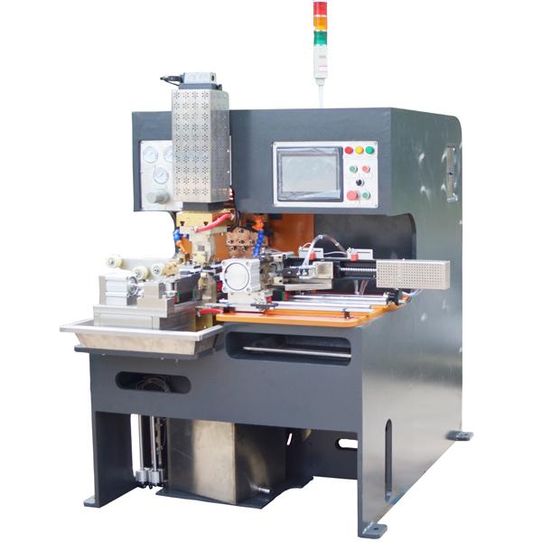 江苏铜编织线成型焊接机    豪精焊接点焊机生产厂家