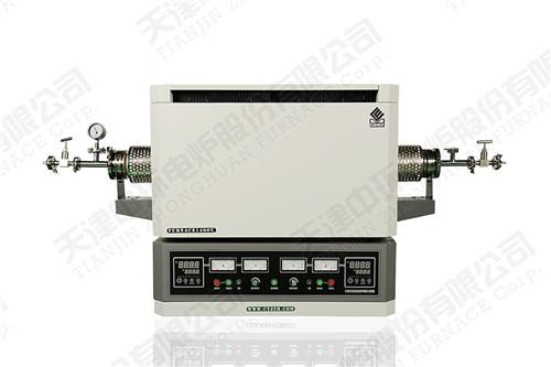 1400℃双温区真空气氛管式电炉 高温接触角测试