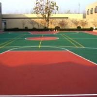 公园彩色透水混凝土地坪,厂家材料增强剂罩面漆,免费寄样块