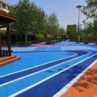 涤绵城市透水混凝土保护剂,路面改色罩面剂,透水地坪施工材料