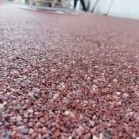 透水混凝土胶粘石地面做法,胶粘剂石施工步骤