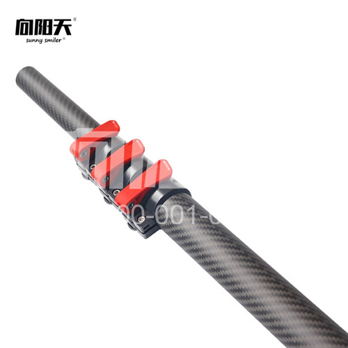 碳纤维伸缩杆8米长 超短节 15米碳纤维伸缩采摘杆价格单