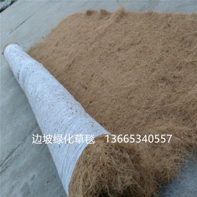 四川直供 植草毯 带草籽椰丝草毯 环保草毯 公路铁道边坡绿化