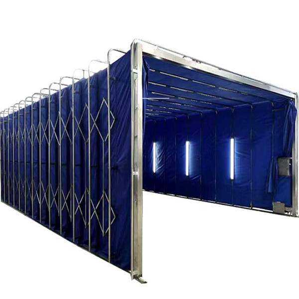 固定喷漆房 整体移动房 移动伸缩房 尺寸大小齐全