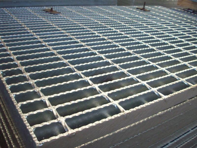 港口走廊栅钢网格A义乌港港口走廊栅钢网格A钢格板奥东厂家制造