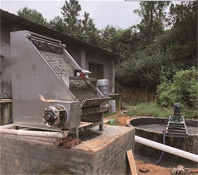 斜筛式固液分离机的价格 山东卓鼎环境工程