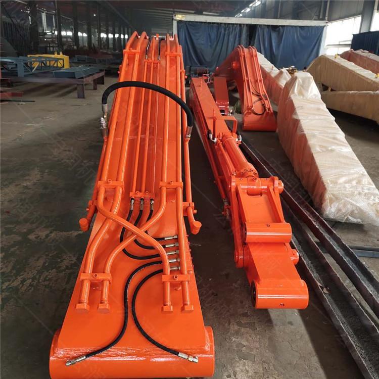河堤治理挖机加长臂出售 20-40吨挖掘机加长臂