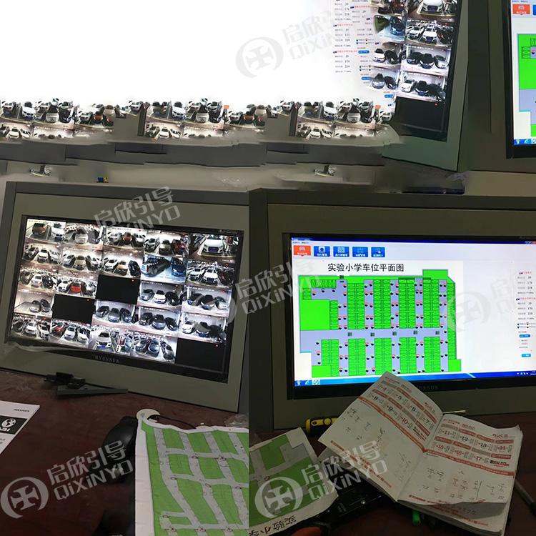 1对3视频车位引导停车诱导系统空车位引导蓝牙定位找车机反向寻