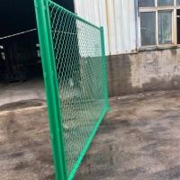 球场勾花网图片及安装方式