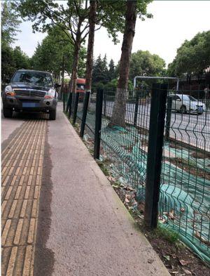 十堰市城区市中心花坛绿化道路护栏厂家